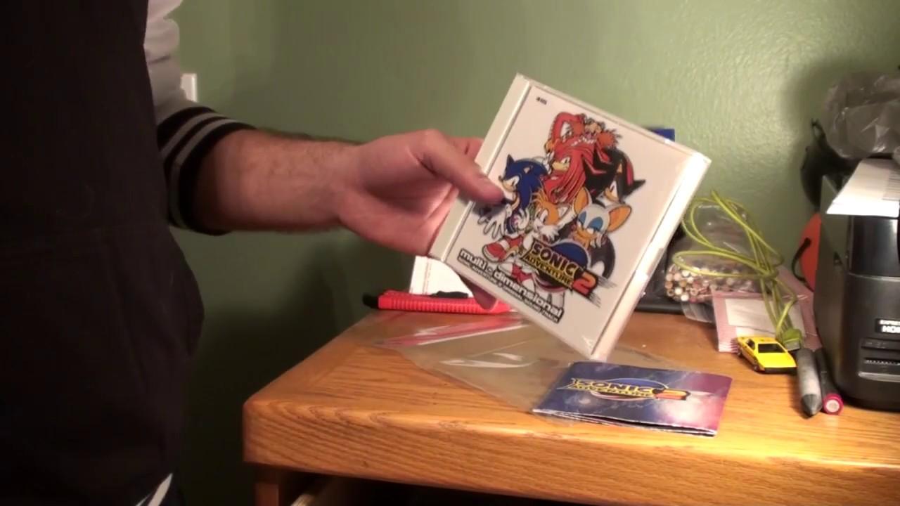 3d22dcf96cce3 Unboxing - Multi-Dimensional Sonic Adventure 2 Original Soundtrack!!