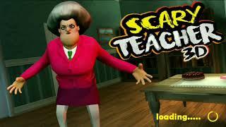 Scary Teacher 3D - Злая учительница   Эпизод 1   Разозлить учительницу так легко
