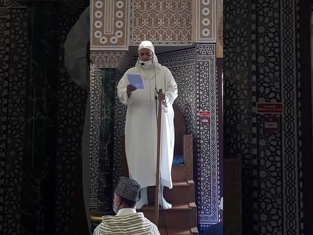 Sermon du Vendredi 07/05/2021 - Mosquée de Chevilly-Larue