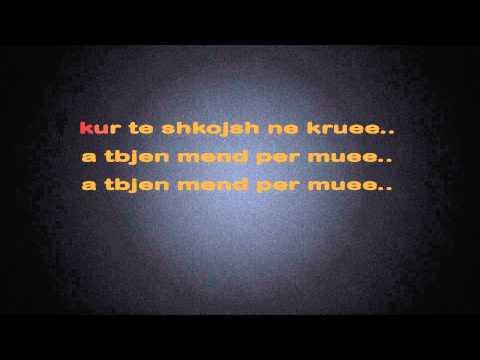 Vet Me The Te Dua ( Karaoke  - LYRICS - )