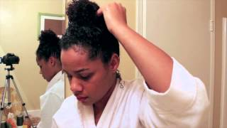 Baking Soda Wash for Curly Hair! (TUTORIAL)