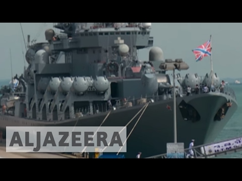 Companies show off military hardware in Singapore