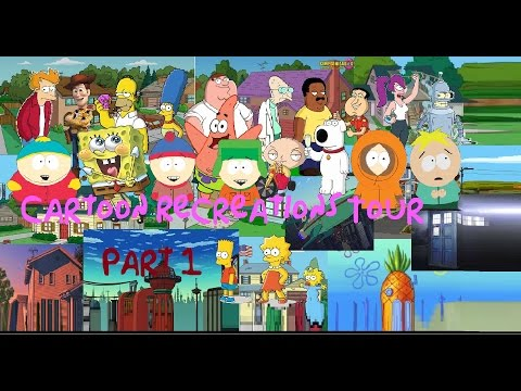 South Park in MInecraft Season 1 Episode 13: Cartoon Recreations Tour (Part 1)