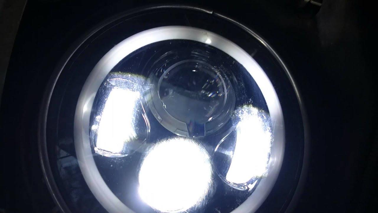 Led Headlight With Halo Not Working Correctly