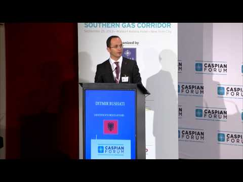 """Caspian Forum New York 2013"" Ditmir Bushati Opening Speech"