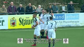 OL Nrh Saison 2017 18 SP23 Spvg Schonnebeck vs ETB SW Essen mit PK 11 3 2018