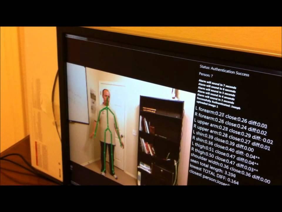 Kinect Security Camera - SVU