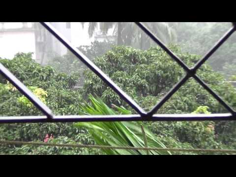 Rain in Chittagong, Bangladesh