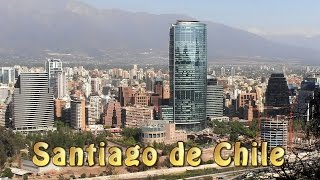 Santiago de Chile - Chile - Südamerika Reise 1/19 Travel Video