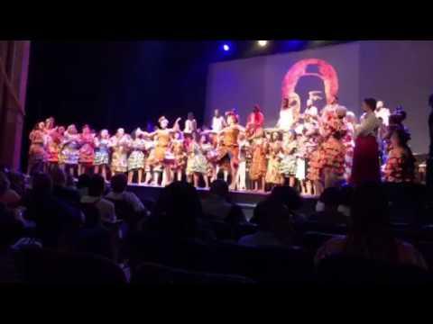 Bishop McNamara African Dance at Warner Theater 2017