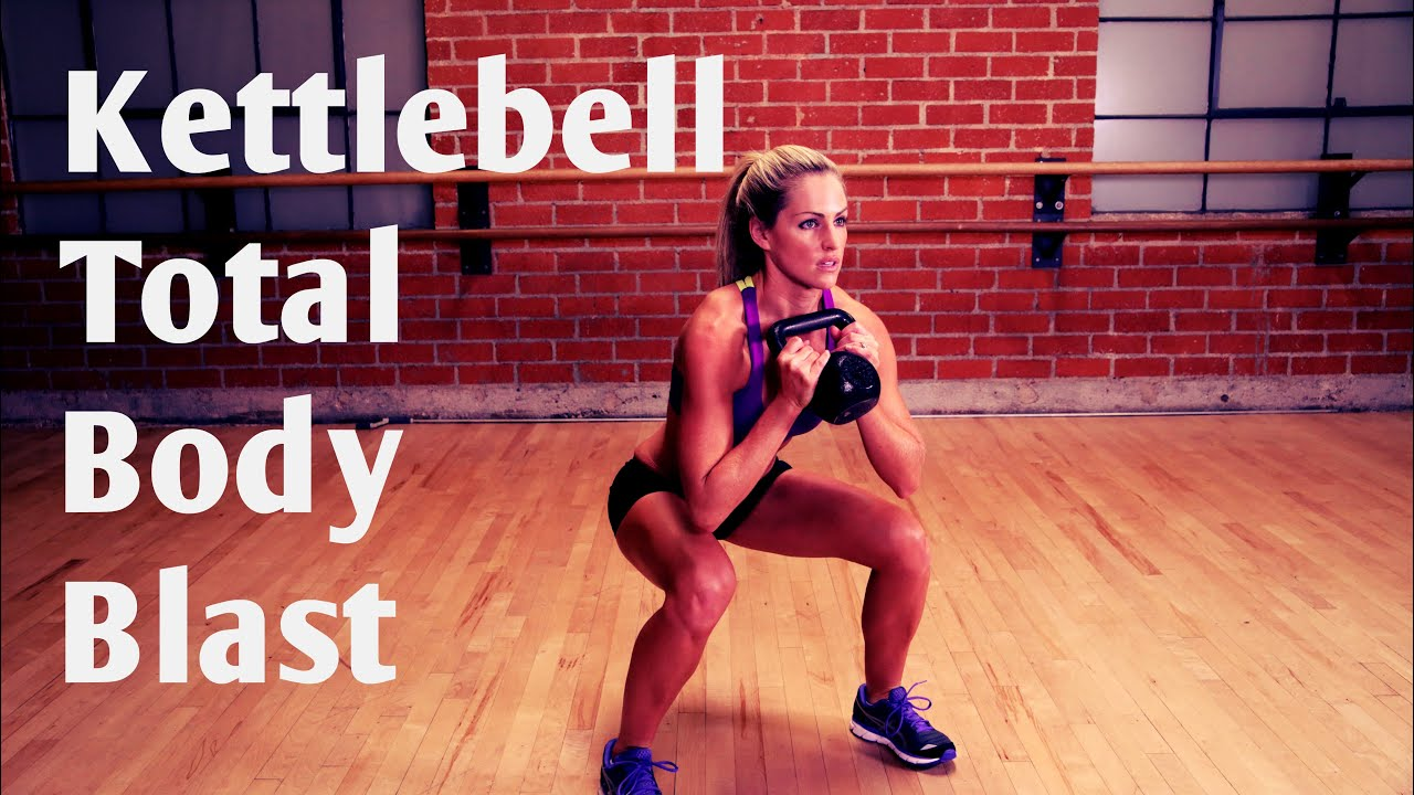 Marvelous 20 Minute Total Body Kettlebell Blast Workout For Strength And Cardio