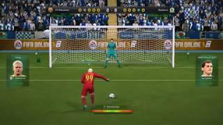 Màn đá penalty nghẹt thở và căng thẳng hóp hết cả người lại- FIFA Online 3 - Game bóng đá trực tuyến