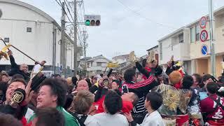 2019 成岩地区祭礼 善六角