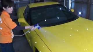 撥油性防汚コーティング剤【FACE】の施工手順を動画で公開しました。 ht...