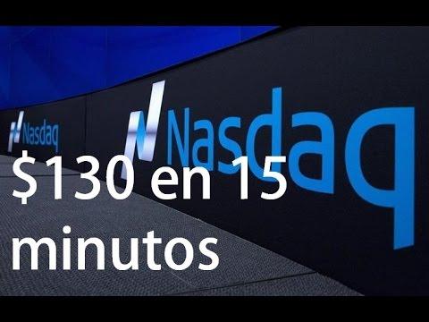 TRADING FUTUROS NASDAQ (NQ)  $130 ganancia en 15 minutos!!
