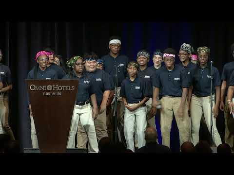 2020 KIPP Leaders and Scholars Breakfast - KIPP Academy Nashville Performance Choir -