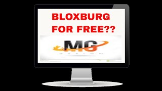 BLOXBURG FOR FREE????? (ROBLOX URBIS)