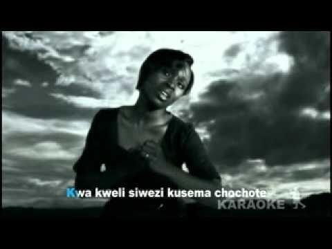 Dena Mwana - Roho Yangu (Karaoké Lyrcs).