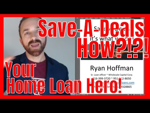 Save a deals - Ryan Hoffman - Wholesale Capital Corp.