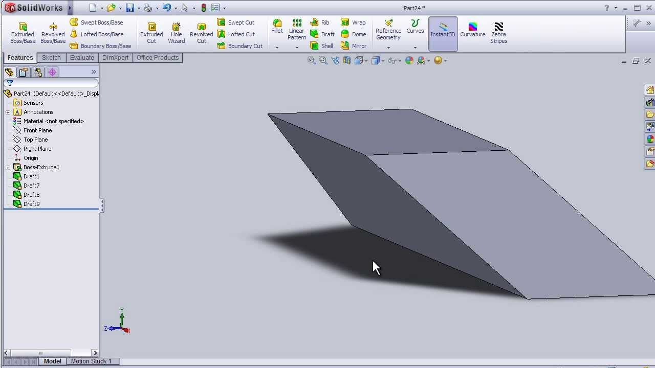 solidworks tutorial pdf for beginners