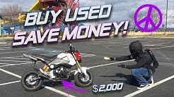 NOW is the time to Buy a Honda Grom!
