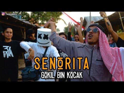 SENORITA - ARAB GOKIL Vs Marshmello Ngawur MANTAV! | 3way Asiska Cover