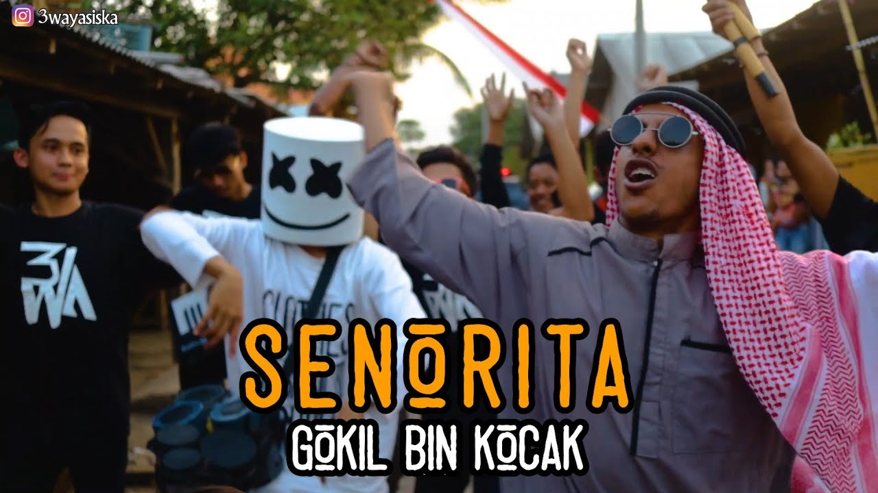 SENORITA - ARAB GOKIL vs Marshmello Ngawur MANTAV! | 3way asiska Cover