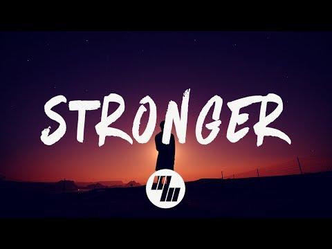 Gareth Emery - Stronger (Lyrics / Lyric Video) With Louis Vivet