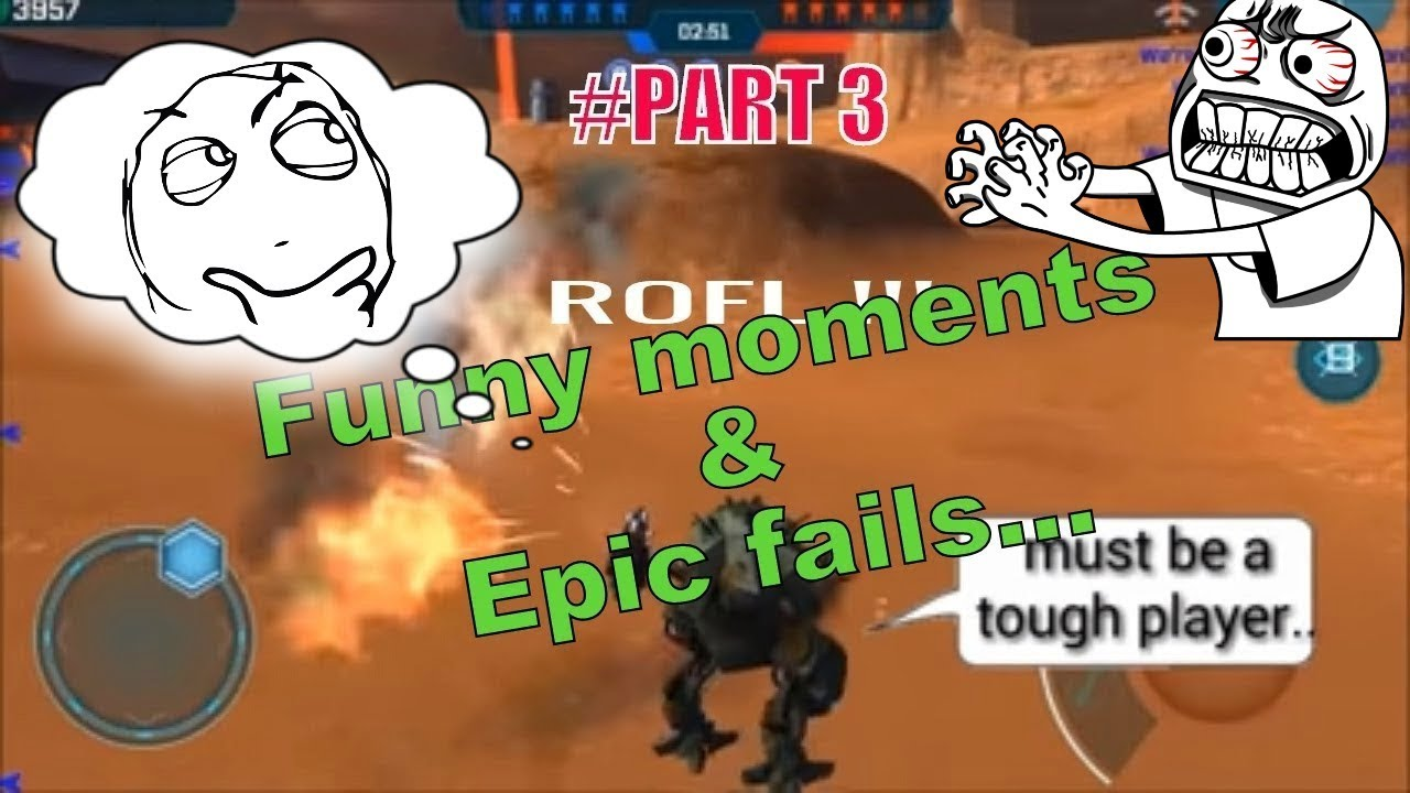WAR ROBOTS FUNNY MOMENTS AND EPIC FAIL / 2017 / PART three