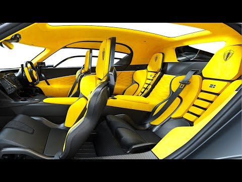 Koenigsegg Gemera 4 Seater Interior Video In Detail 4 Seater Electric Hybrid Supercar CARJAM TV