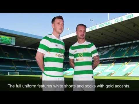 timeless design 3e921 c1228 The New Balance Celtic FC 2017/2018 Home Jersey