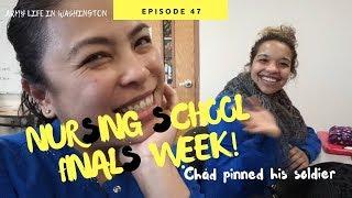 NURSING SCHOOL, FIRST QUARTER FINALS [Doug&Marie's Life S4E47] Army wife vlog