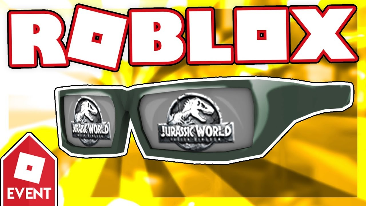 [PROMO CODE] How to get the JURASSIC WORLD SUNGLASSES | Roblox