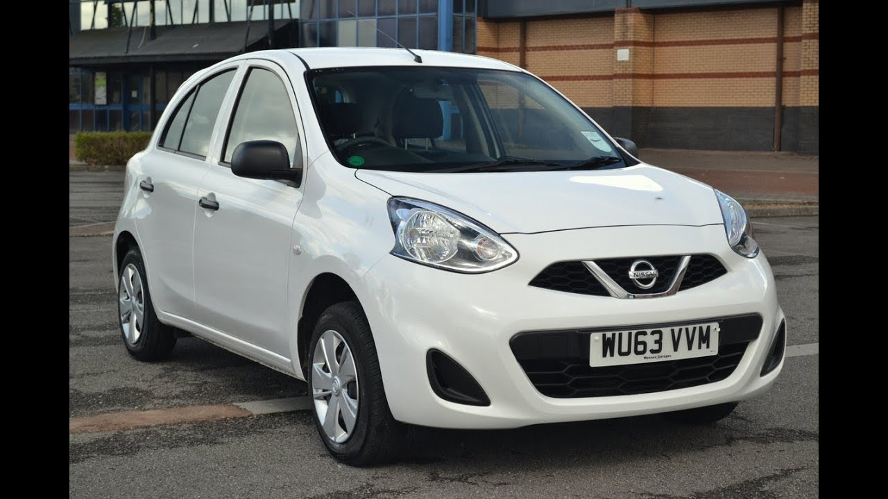 nissan micra visia 1 2 petrol manual white wu63vvm wessex garages newport youtube. Black Bedroom Furniture Sets. Home Design Ideas