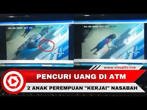 Dua Anak Jalanan Curi Uang Nasabah di ATM Makassar