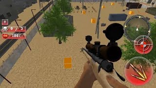 Sniper Helicopter War 2018 Free Sniper Games FPS Android Gameplay