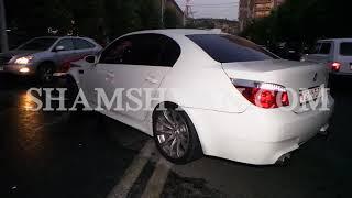Ռադիոտան մոտ BMW ն դուրս է եկել հանդիպակաց երթևեկելի գոտի և բախվել 2 Opel ների ու Volkswagen ի