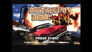 Playthrough [PSX] Destruction Derby Raw