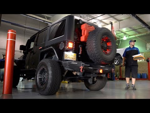 Whatever Wednesday - Jeep Oil Change