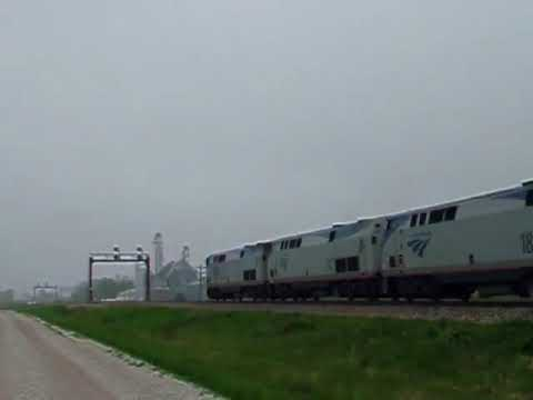 Thumbnail: Amtrak Southwest Chief at 90 MPH