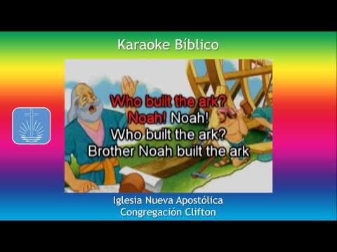 Who Built The Ark - Karaoke