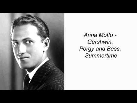 Anna Moffo. Gershwin. Porgy And Bess. Summertime