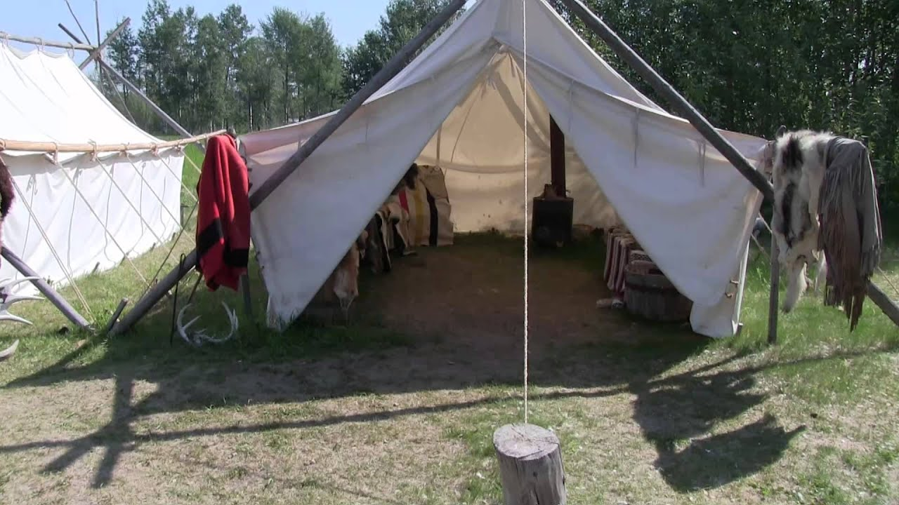 & Life of a Metis Trapper - Part II: Life in a Tent - YouTube