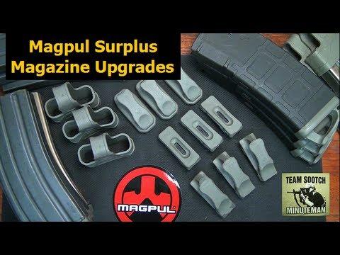 Magpul GI Surplus Magazine Upgrades