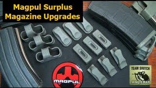 Magpul GI Surplus Magazine Upgrades