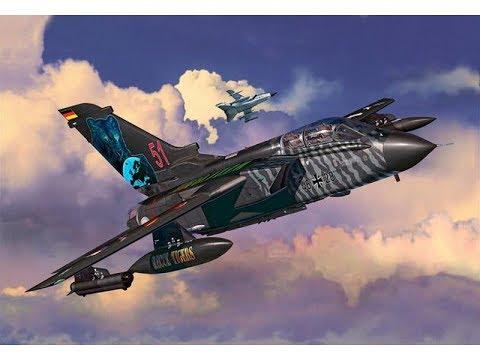 Revell Panavia Tornado ECR Tigermeet NTM 2014 Paint