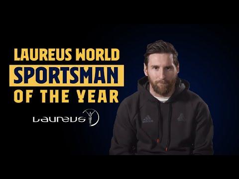 FULL SPEECH | Leo Messi Receives Laureus Sportsman Of The Year