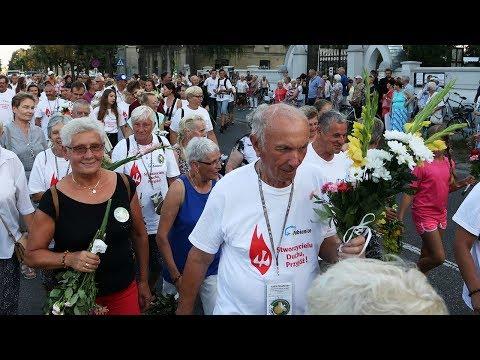 Powrót pielgrzymki do Pabianic
