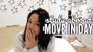college move in day vlog || study abroad in Spain!!