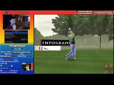 #54 N64 Challenge - PGA European Tour (Amateur)